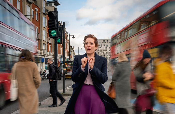 Katherine Parkinson will star alongside Kayla Meikle in Shoe Lady. Photo: Niall McDiarmid