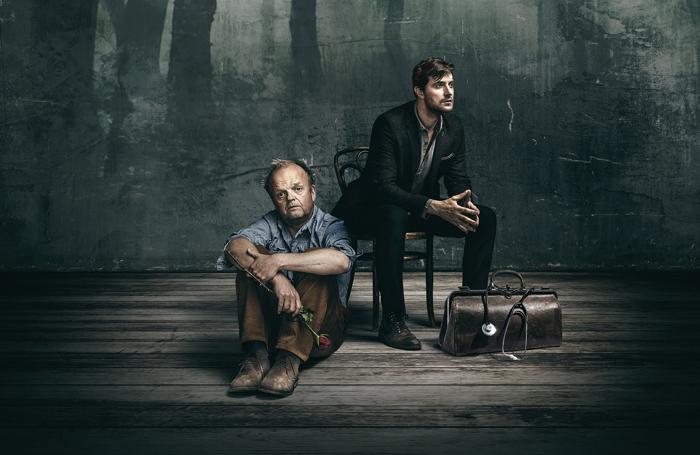 Toby Jones and Richard Armitage. Photo: Seamus Ryan