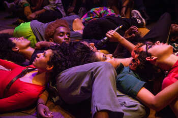 Brazil's Coletiva Ocupação on When It Breaks It Burns: 'Theatre helps us to handle oppression'