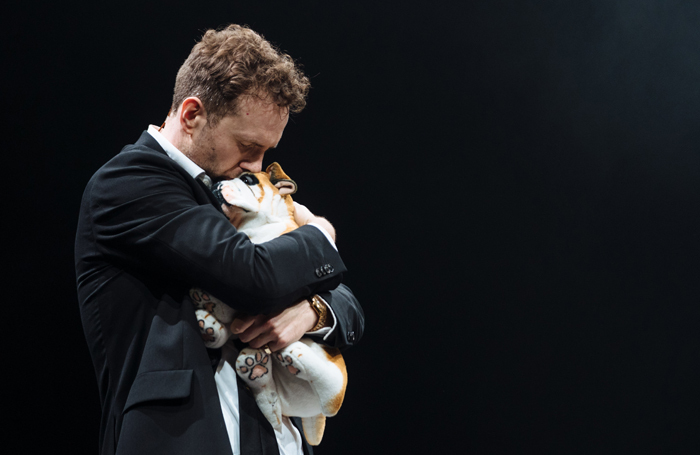 Rafe Spall in Death of England at the National Theatre, London. Photo: Helen Murray