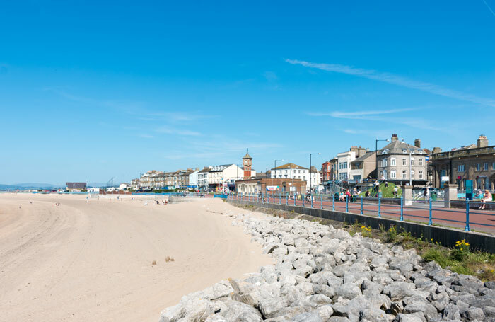 Morecambe town centre. Photo: jremes84/Shutterstock