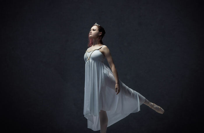 Errin Whalley, one of the affected students at Ballet West Scotland, in performance. Photo: Alastair Bocker