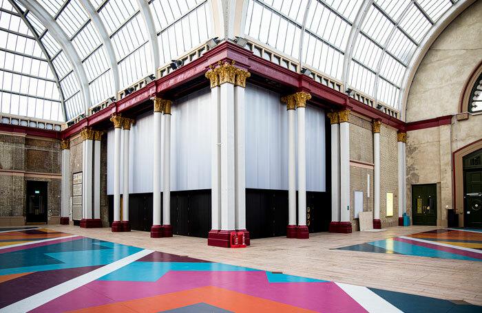 Creativity Pavilion at Alexandra Palace. Photo: Lloyd Winters