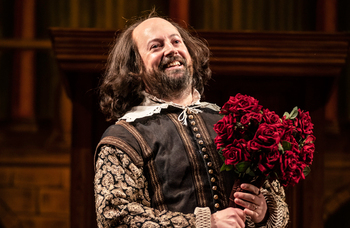 The Upstart Crow starring David Mitchell at the Gielgud Theatre, London – review round-up