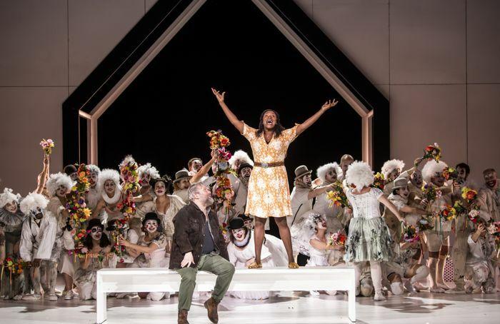 English National Opera's production of Luisa Miller at London Coliseum. Photo: Tristram Kenton