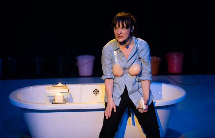 Jade Williams in Everywoman at the Bunker, London. Photo: NKT studios