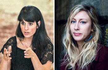 Paines Plough's Katie Posner and Charlotte Bennett: 'Our USP is touring so we help give writers a national voice'