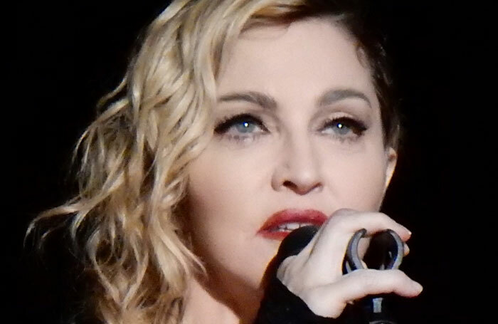 Madonna banned phones at her Palladium residency.