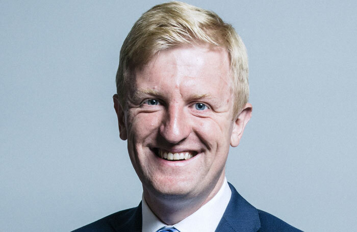 The UK's new culture secretary Oliver Dowden. Photo: Chris McAndrew
