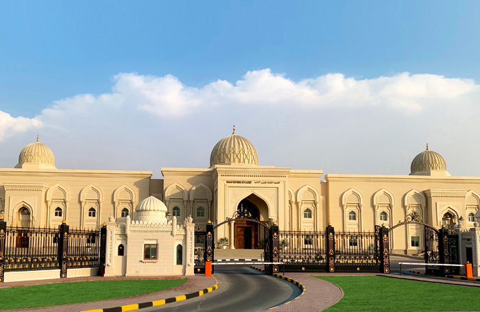 The outside of SPAA's building in UAE