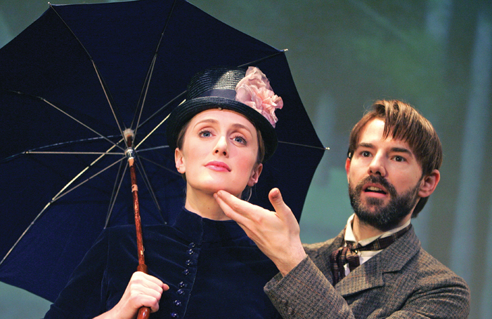 Jenna Russell and Daniel Evans appeared together in Sunday in the Park With George in 2006. Photo: Tristram Kenton
