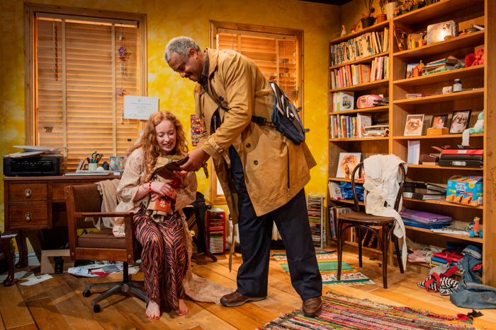 Victoria Yeates and Andrew Dennis at Jermyn Street Theatre. Photo: Robert Workman