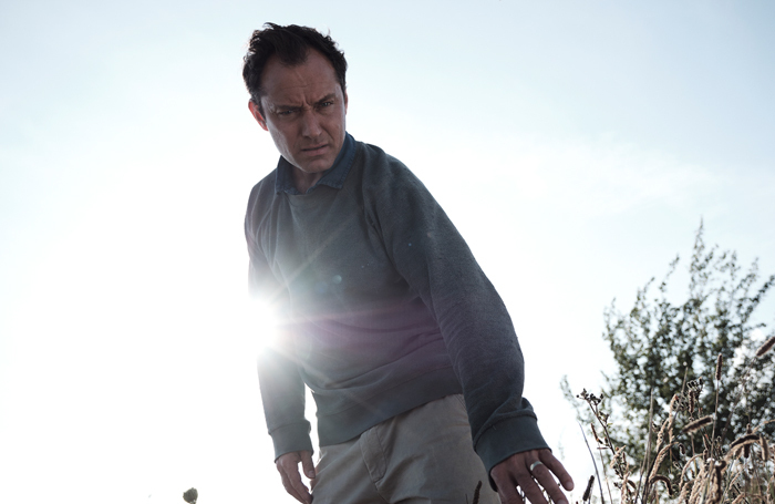 Jude Law in The Third Day. Photo: Sky/Punchdrunk/HBO/Plan B