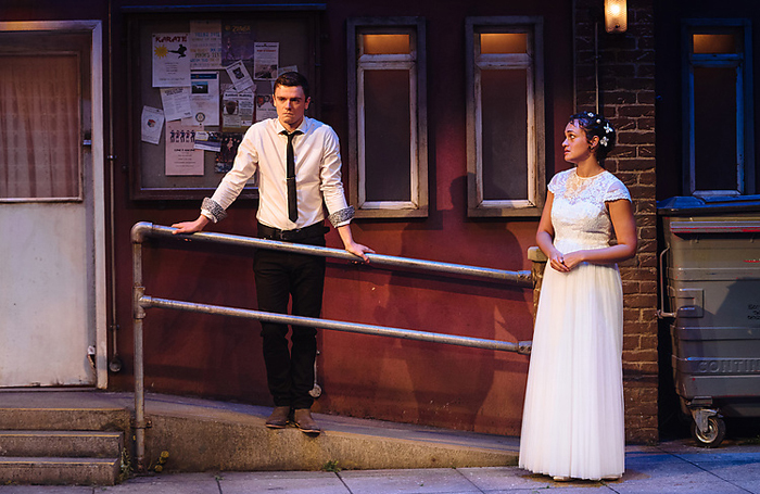Blood Wedding at Salisbury Playhouse. Photo: Helen Murray