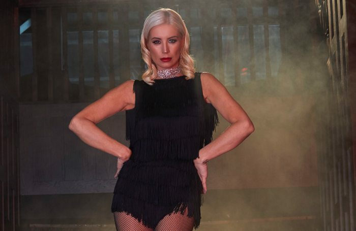 Denise Van Outen will host and perform in Cabaret All Stars at Proud Embankment. Photo: Robin Kennedy