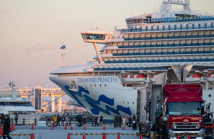 The quarantined performers were all working on the Diamond Princess ship. Photo: Shutterstock
