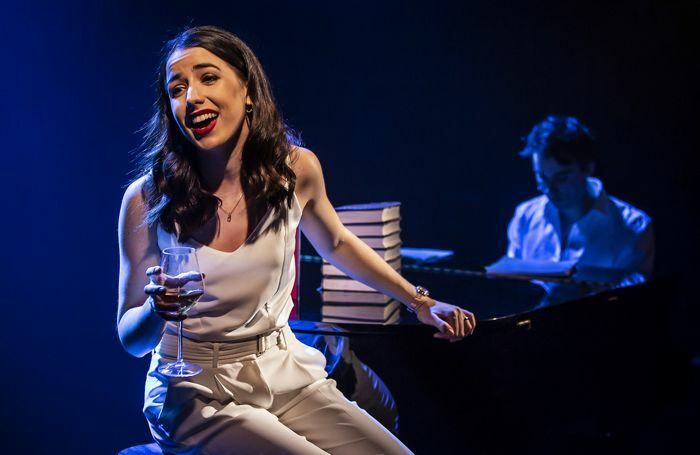 Molly Lynch in The Last Five Years at Southwark Playhouse. Photo: Pamela Raith