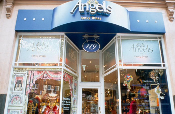 Angels Fancy Dress on Shaftesbury Avenue