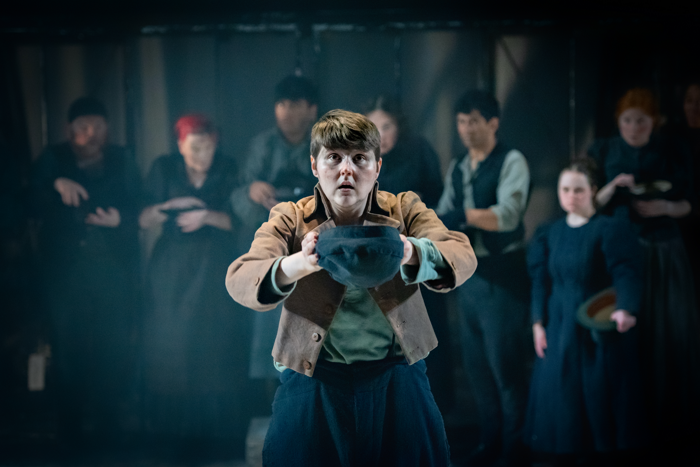 Brooklyn Melvin  in Oliver Twist. Photo: Anthony Robling