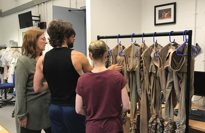 Birmingham Royal Ballet choreographers discuss costumes with makers
