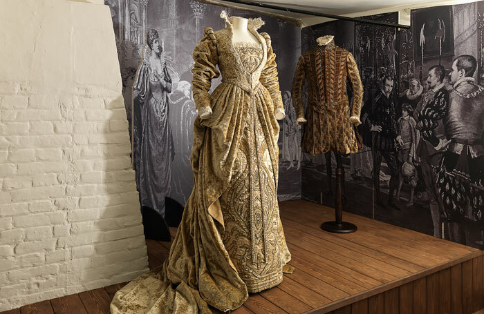 Costumes warn by Ellen Terry and Henry Irving for the 1882 production of Much Ado About Nothing. Photo: National Trust