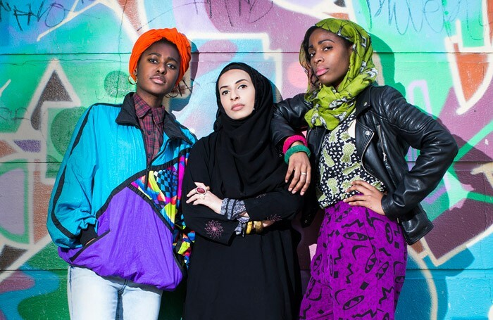 A publicity shot for the cancelled National Youth Theatre production Homegrown. Photo: Helen Maybanks