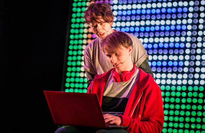 Anna-Jane Casey and Max Alexander-Taylor in Stages – A Video Game Musical