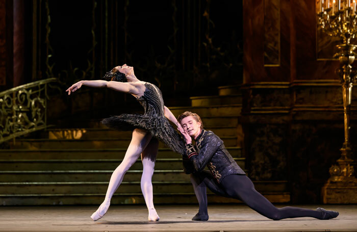 Marianela Nuñez and Vadim Muntagirov in Swan Lake at the Royal Opera House. Photo: Bill Cooper