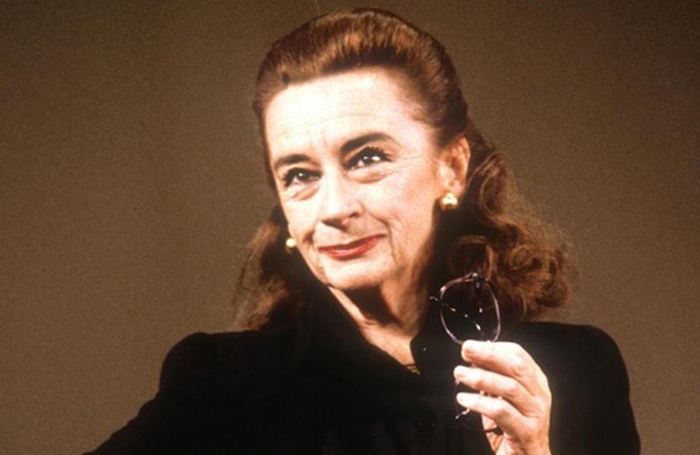 Zoe Caldwell as Maria Callas in Terrence McNally's Master Class in 1995