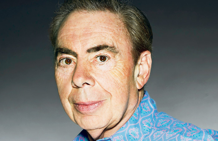 Andrew Lloyd Webber (when he's not filming his own shows). Photo: John Swannell