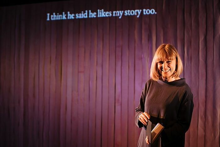 Sophie Woolley in Augmented at Salisbury Playhouse