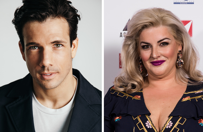 Danny Mac and Jodie Prenger (photo: Alex Brenner), who will take part in the online event