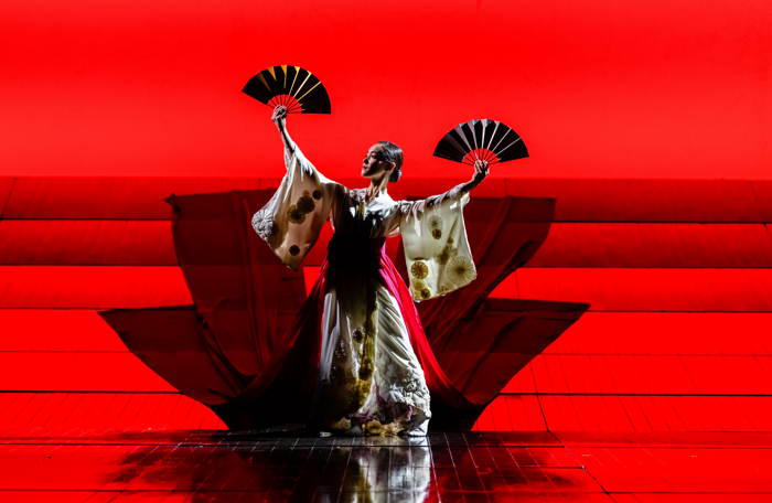 English National Opera's Madam Butterfly at London Coliseum. Photo: Jane Hobson