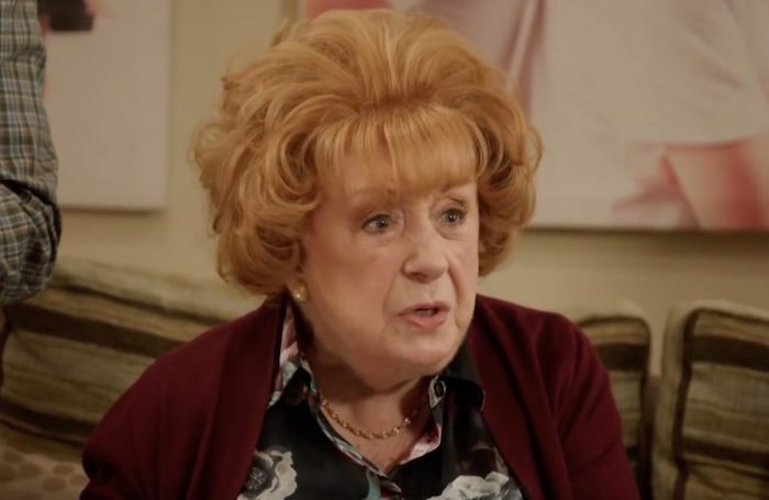 Frances Cuka as Grandma Nelly in Channel Four's Friday Night Dinner. Photo: Channel Four