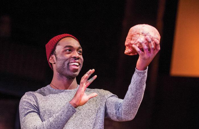 Hamlet (2016). Photo: Manuel Harlan
