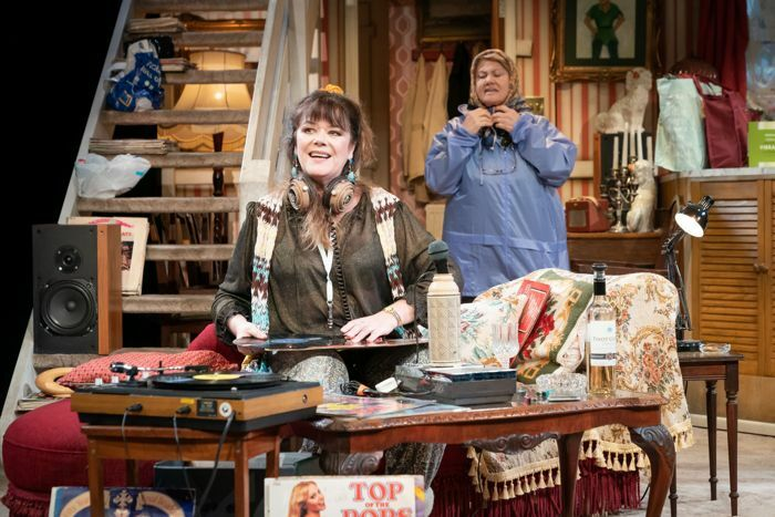 Josie Lawrence and Annette Badland in Our Lady of Blundellsands at Liverpool Everyman. Photo: Marc Brenner