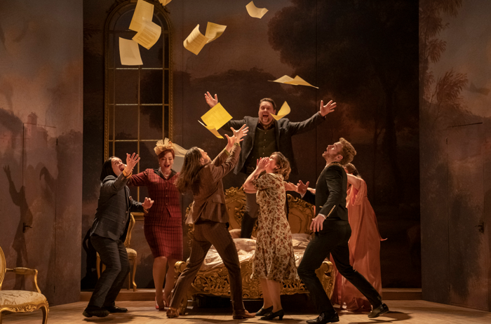 Mid Wales Opera's The Marriage of Figaro. Photo: Matthew Williams Ellis