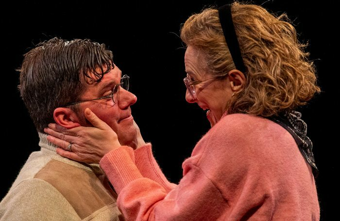 Matthew Wilson and Nicola Stephenson in Two at Hull Truck Theatre