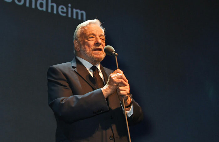 Stephen Sondheim. Photo: Dave Benett