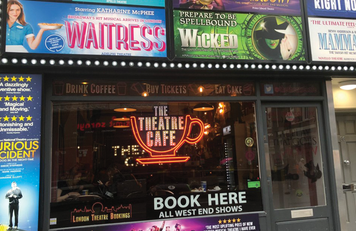 The Theatre Cafe, Shaftesbury Avenue