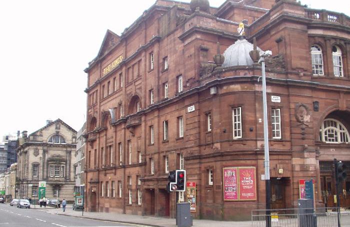 King's Theatre, Glasgow. Photo: Gordon McKinlay