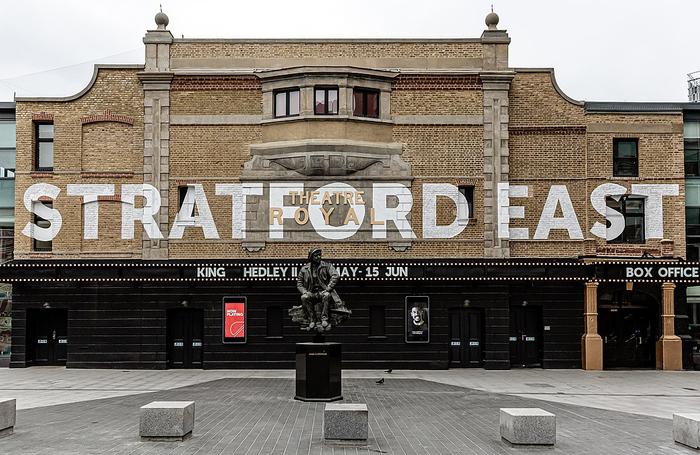 Theatre Royal Stratford East. Photo: Wiki/Richard Davenport