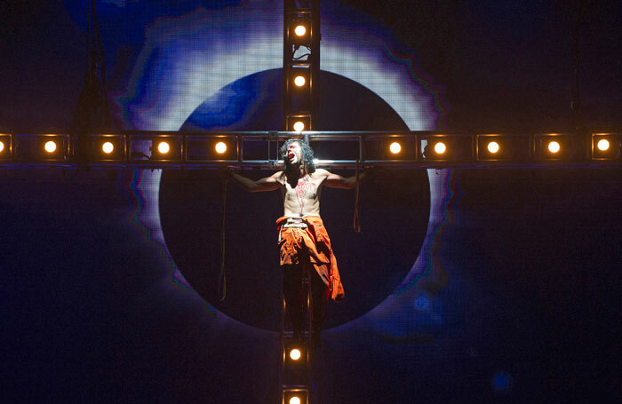 Ben Forster in Jesus Christ Superstar. Photo: Tristram Kenton