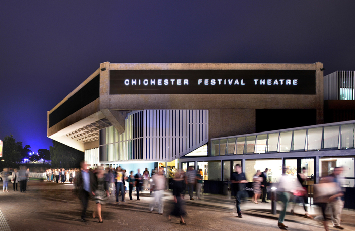 Chichester Festival Theatre. artistic director Daniel Evans expressed his concerns. Photo: Philip Vile
