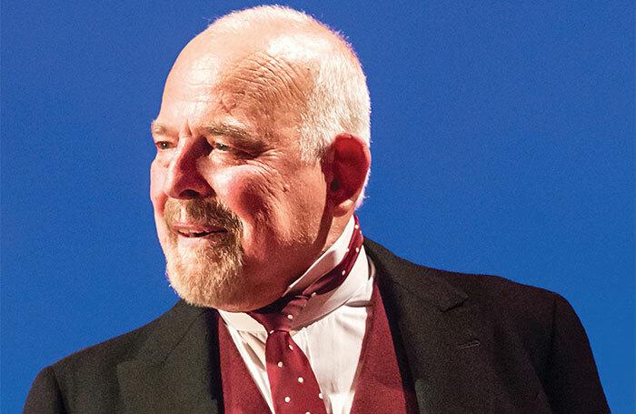 John Shrapnel in The Winter's Tale at the Garrick Theatre in 2015. Photo: Johan Persson