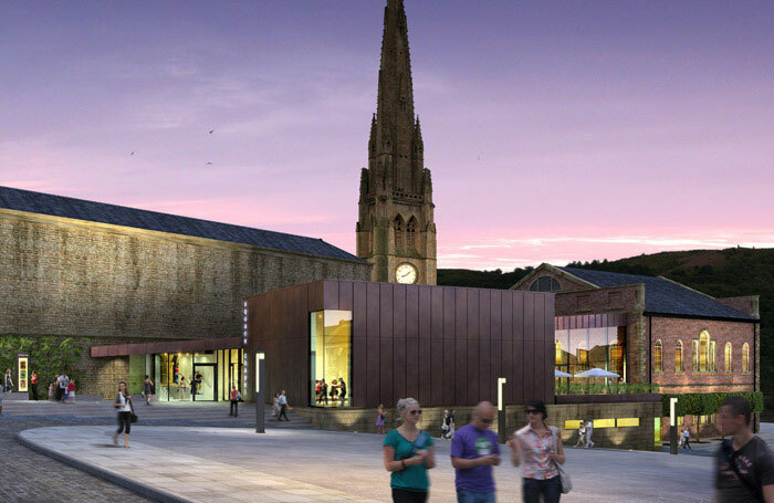 An artist's impression of how Square Chapel Centre will look after the multimillion-pound revamp. Photo: Evans Vettori