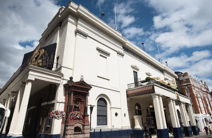 Theatre Royal Drury Lane, prior to its refurbishment works beginning
