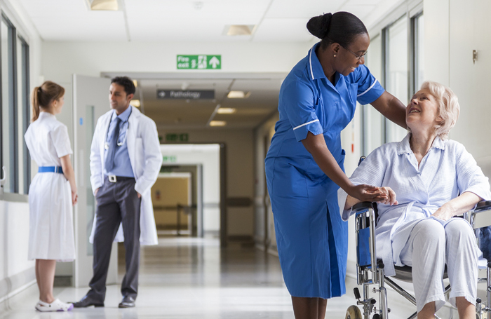 Medical professionals in scrubs. Photo: Shutterstock