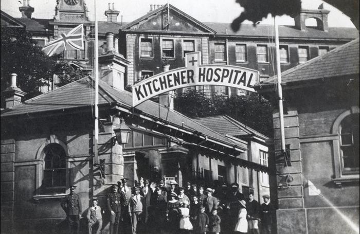 The Kitchener Hospital in Brighton
