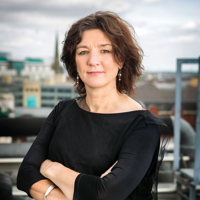 Birmingham hippodrome chief executive Fiona Allan. Photo: Pamela Raith